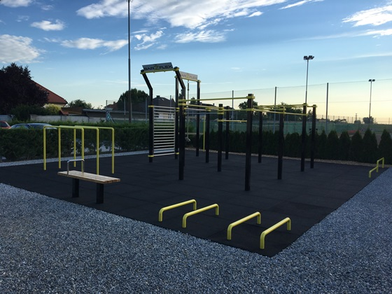 Foto Outdoor-Fitnesspark
